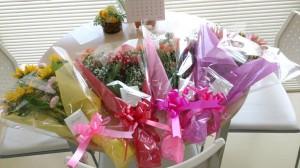 第2教室卒業生からのお花